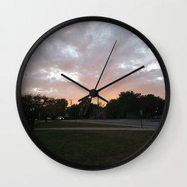 Sunlit Sky Wall Clock