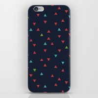 snowboarding iPhone & iPod Skins featuring TRY ANGLES / snowboarding by DANIEL COULMANN