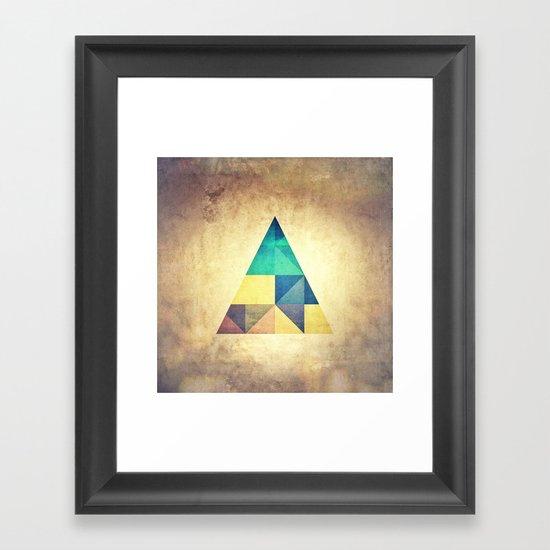 ancyynt gyomytry Framed Art Print