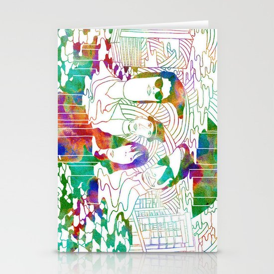 """Bosnian Rainbows"" by Steven Fiche Stationery Cards"