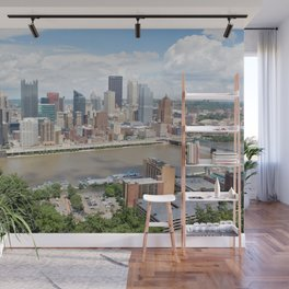 Downtown Pittsburgh Wall Mural