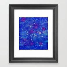 Constelation Framed Art Print