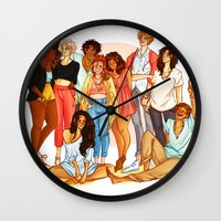 marauders Wall Clocks featuring Marauders' Era group picture by Miho