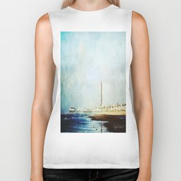 On The Front Textured Fine Art Photograpy Biker Tank