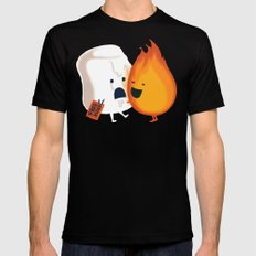 Friendly Fire Black MEDIUM Mens Fitted Tee