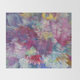 Abstract 170 Throw Blanket