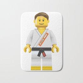Jiu jitsu maniac Bath Mat