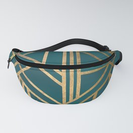 Art Deco Graphic No. 213 Fanny Pack