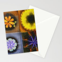 Industrial Form Flowers  ID:16165-024252-22791 Stationery Cards