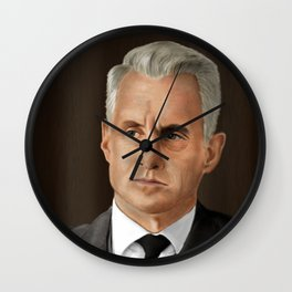 Roger Sterling (Mad Men) Wall Clock