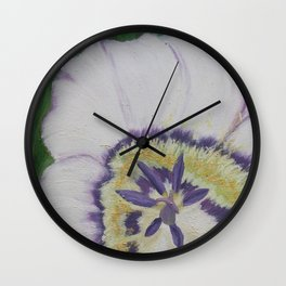 Crocus 1 Wall Clock
