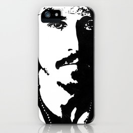 Johnny Depp painting iPhone Case