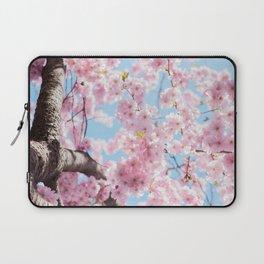 Pink Cherry Blossom Tree Laptop Sleeve