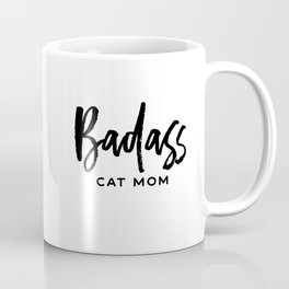 Badass cat mom Coffee Mug