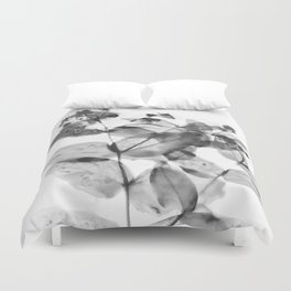 Ghostly Blooms Duvet Cover