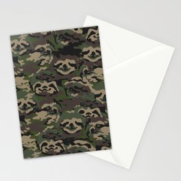 Sloth Camouflage Stationery Cards
