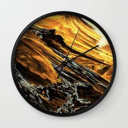 Incredibly Space Wall Clock