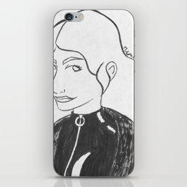 Black Canary iPhone Skin