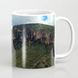 Painted Southern Arizona Greenery Coffee Mug