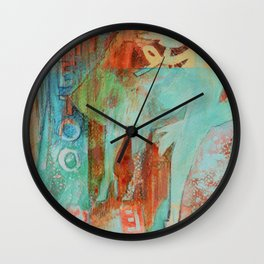 She's not here to serve you Wall Clock