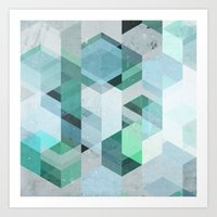 nordic Art Prints featuring Nordic Combination 22 by Mareike Böhmer