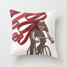 Loose Threads Throw Pillow