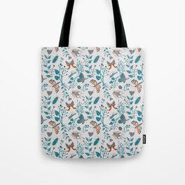Insects and Moths Frolicking in the Day Tote Bag