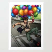 free.......!!! Art Print