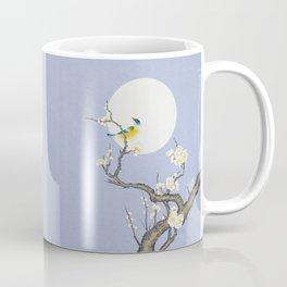 Plum blossoms, bird and the moon Type B (Minhwa: Korean traditional/folk art) Coffee Mug