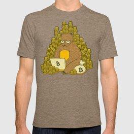 Bitcoin Miner T-shirt Bear T-shirt