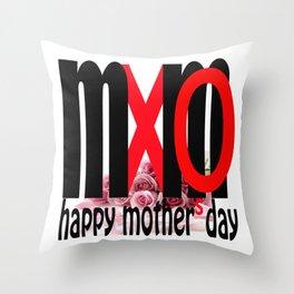 mUmXO Throw Pillow