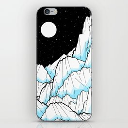 The Ice mountains iPhone Skin