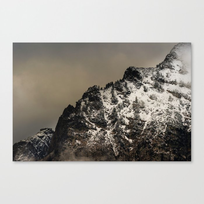 GOODNIGHT MOUNTAINS Canvas Print