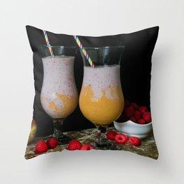 Fresh Smoothies Throw Pillow