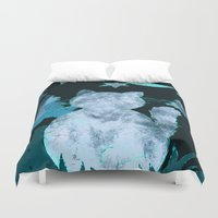 watch Duvet Covers featuring Night Watch by Kay Weber