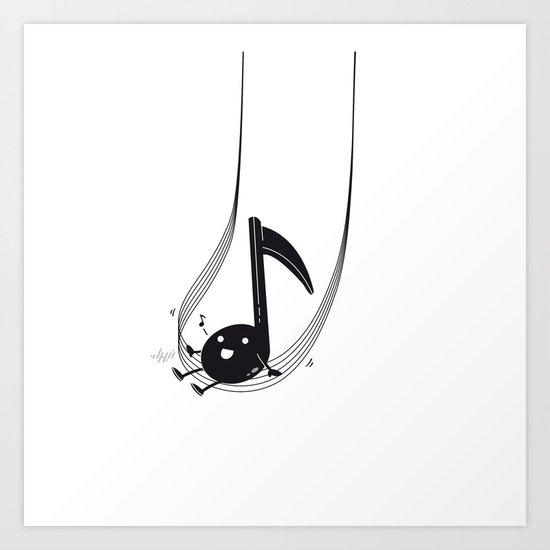Swing Music Art Print