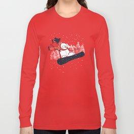 Snow Ahead! Long Sleeve T-shirt