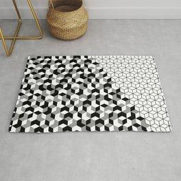 Hexagon(black) #2 Rug