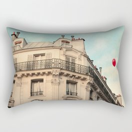 Balloon Rouge Rectangular Pillow