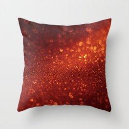 Glitter Bokeh Texture 9 Throw Pillow