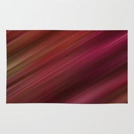 Fresh Rhubarb Stripes Rug