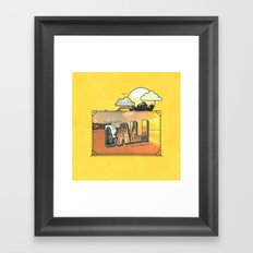 Wish I Was There Framed Art Print