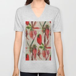 Strawberry Kush  Unisex V-Neck