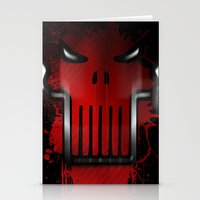 punisher Stationery Cards featuring The Punisher by Kosept