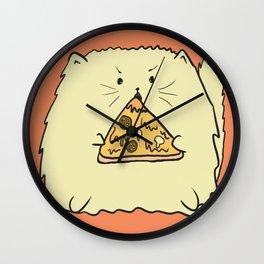 Pizzacat Wall Clock