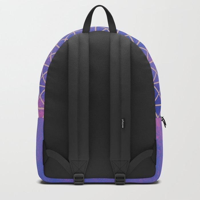 Heart X Purple Backpack