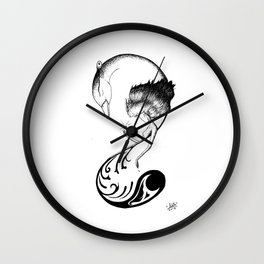 Phone Design 01 Wall Clock