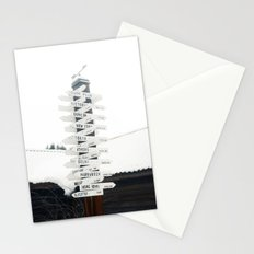 Directions to Anywhere Stationery Cards