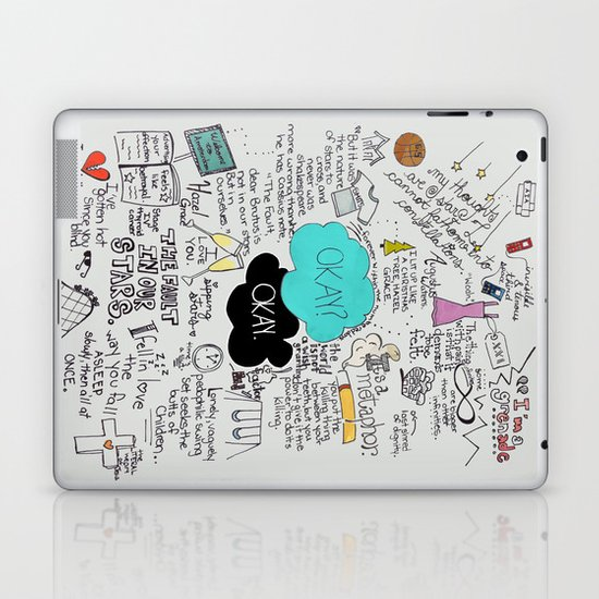 The Fault in Our Stars- John Green Laptop & iPad Skin