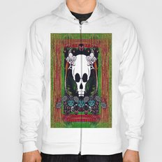 In the Dark a  Skull and Lizards Hoody